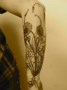#poppy #tattoo - black line
