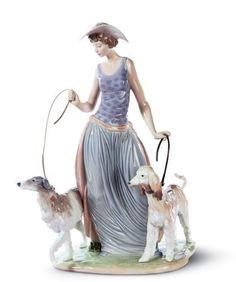 Elegant Promenade Lladro Figurine ~ Love Lladro, only have a few pieces, but love em'