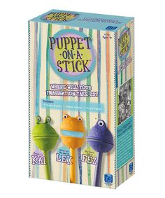 Take a look at this Puppet-On-A-Stick by Educational Insights on #zulily today!