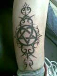 My heartagram tattoo