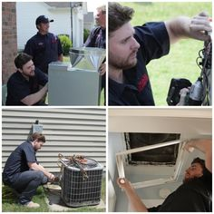Chris Young showing off his day job skills...my ac just broke!