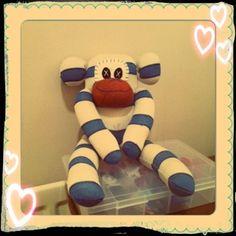 Monkey Sock Monkeys, Tigger, Disney Characters, Fictional Characters, Crafty, Disney Face Characters