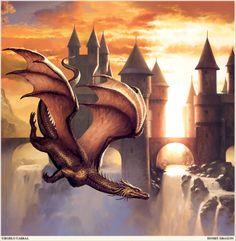 Ciruelo Cabral - Sunset Dragon.