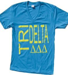 New neon tee available in Delta Shop. Bonus: it's SUPER soft.