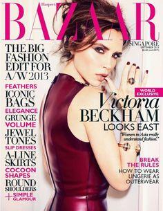 Harper's Bazaar Singapore September 2013 #VictoriaBeckham By #EllenVonUnwerth