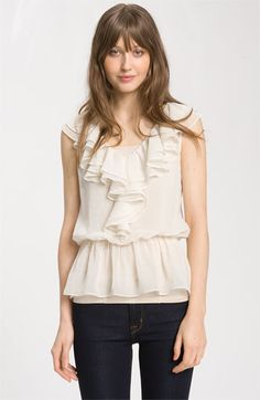 I have been looking for the perfect cream top that could work for the classroom and nights out.