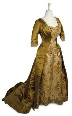 c. 1875 House of Worth Gown