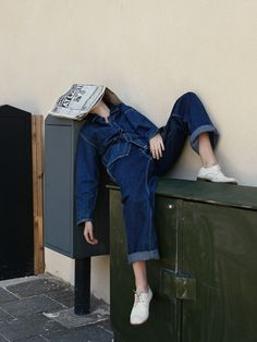 http://iwant.thefabricstore.co.nz | Inspiration image | Double denim  | The Lifestyle Edit