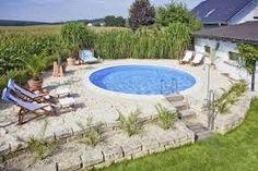 Bildresultat för pool för mindre trädgård