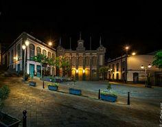 Plaza de la Constitución.Arucas..Ayuntamiento.
