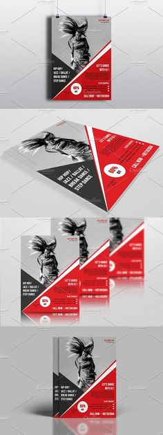 Dance Academy Flyer Poster Template 2 Pinterest Dance