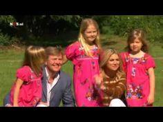 Fotosessie gezin prins Willem-Alexander en Maxima