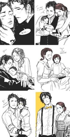 The Herondale Family. *SOBS* Someone hand me a tissue, it's just so beautiful!!