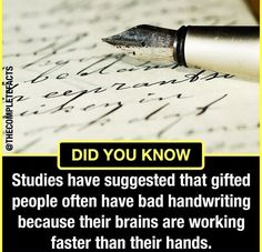Tag someone with a bad handwriting 👇 Wow Facts, True Facts, Good Life Quotes, Life Is Good, Psychology Fun Facts, Gernal Knowledge, English Quotes, Handwriting, Personal Development