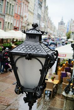 Street Lamp in Old Town, Gdansk
