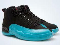 official photos 58428 2f3c5 ... top quality air jordan 12 shoes cheap mens nike air jordan 12 retro  gamma blue black