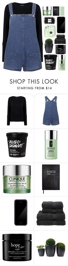 """""""♡ TAGLIST - CLOSED ♡"""" by dont-go-to-sleep ❤ liked on Polyvore featuring Pink Tartan, Topshop, Clinique, Sloane Stationery, Squair, Christy, philosophy and tiastopset"""