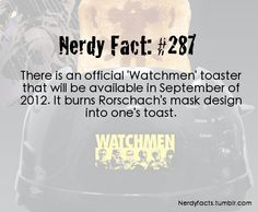 @Eric Bowens.. Guess what you are getting for Christmas? A Rorschach Toaster!