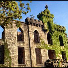 Abandoned Renwick Smallpox Hospital on Roosevelt Island