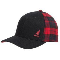 5b4c62bb2c6 Kangol Varsity Checks Flexfit® Baseball Cap (For Men). Mens CapsBaseball  CapSnapback