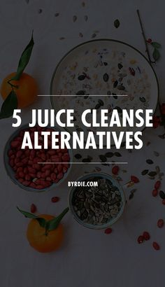5 amazing juice cleanse alternatives to help you detox and stay full at the same time. // #Diet #Health