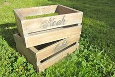 wood crate baskets - Google Search - for Jonah's toys in the livingroom