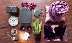 Five of our favorite dorm room style kits. Coordinate and personalize your space with a black storage box, a wall clock, a wastepaper basket, quilt cover set in lilac, a work lamp, a picture with lilac flowers, all from IKEA. For more dorm ideas check out our Back to College board: http://www.pinterest.com/IKEAUSA/back-to-college/