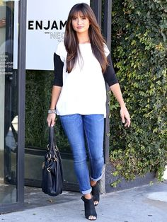 Catherine Giudici showed off some new bangs after a joint trip to the salon with husband Sean Lowe -- see her new hair!