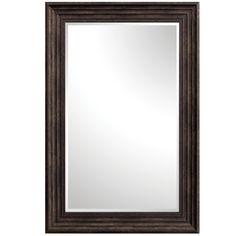 Espresso 36 Inch Tall Thick Framed Mirror Yosemite Home Decor Rectangle Mirrors Home Decor