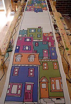 Silk Painting Resist Method - Apply Dye