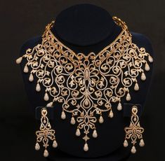 Wedding Necklace Jewellery Design