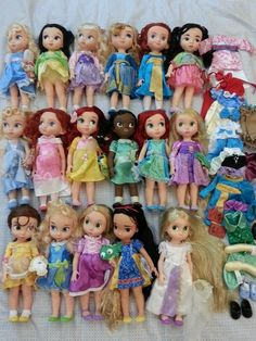 Disney Animator Doll Huge Lot of 17 Dolls | eBay