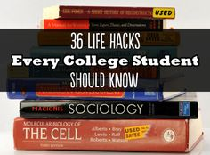 36 Life Hacks Every College Student Should Know  GENIUS .