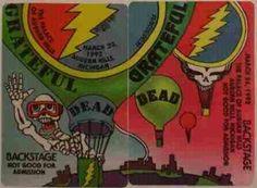 1992 Grateful Dead Backstage Pass