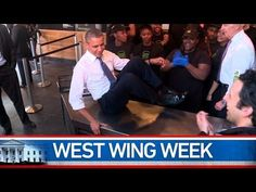 "West Wing Week: 09/09/16 or ""Whose coconut is this?"" - YouTube"
