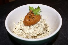 Raw vegan macaroni and cheese recipe