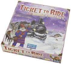 Amazon.com: Ticket To Ride: Nordic Countries: Toys & Games