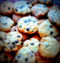 donabimby: Cookies com Pepitas de chocolate