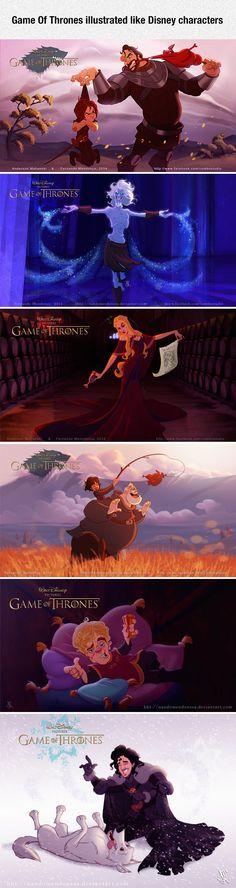 Walt Disney Presents: Game Of Thrones