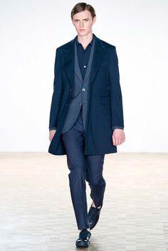 Hardy Amies Spring 2016 Menswear Fashion Show