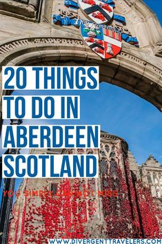 Unmissable things to do in Aberdeen, Scotland. Including top sights, best day trips, where to stay, where to eat and complete city guide. Europe Travel Tips, New Travel, Travel Guides, Family Travel, Travel Destinations, Aberdeen Scotland, Scotland Travel, Aberdeenshire Scotland, Scotland Trip
