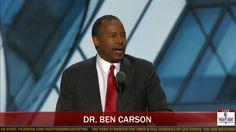 FULL SPEECH: Dr. Ben Carson Inspiring Speech at RNC in Cleveland (7-19-16)