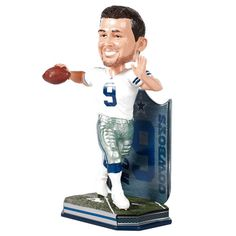 Tony Romo Dallas Cowboys Name & Number Bobblehead - $23.99