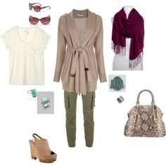 Cool Spring Day, created by tani-m on Polyvore    Turquoise Ring at http://www.silvertribe.com/Turquoise-Ring