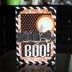 *As Seen in CARDS Magazine* | Haunted Halloween Kit from Peppermint Creative. Card by @Mary Powers Powers Jo Johnston  #halloween #cards