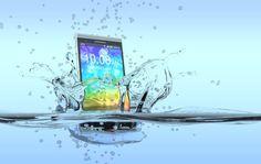 España patenta la fórmula química que revive móviles mojados