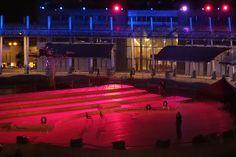 Ieri le prove luci sul #palco per #expo365 #expo2015