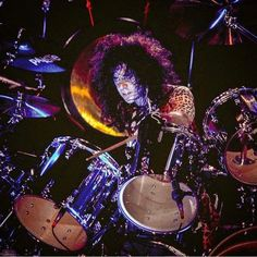 Eric Carr, Hot Band, Drums, Kiss, Music Instruments, Percussion, Musical Instruments, Drum, Kisses