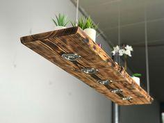 Holz Pendellampe Lärche geflammt Smart Home  | eBay