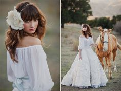 Spanish Bridal Fashion + Mexican Pastels